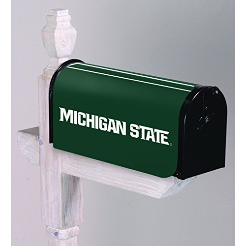 Michigan State Spartans Gift Box - Evergreen NCAA Michigan State Spartans Mailbox Cover, Team Colors, One Size