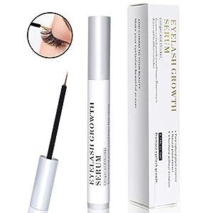 [Upgraded] Eyelash Growth Serum, Eyebrow Booster Natural Lavish Lash Enhancer, Rapid Brow Lashes Growing Treatment for…