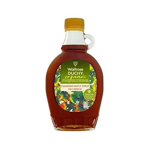 Duchy Waitrose Organic Medium No.1 Maple Syrup 250ml - Pack of 4
