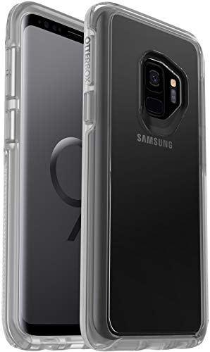 OtterBox Symmetry Clear Series Case for Samsung Galaxy S9 (NOT Plus) Bundled with Alpha Glass Screen Protector