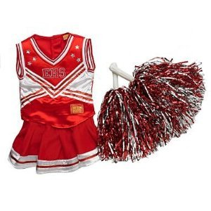 High School Musical Cheerleader Costume With Lights Amp Pom