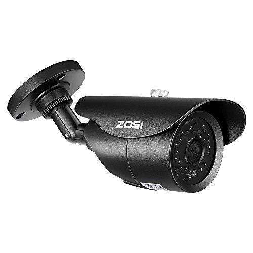 Uso para Exterioes 40M Visi/ón Nocturna ZOSI 8CH AHD 720P DVR Kit de Videovigilancia 1TB HDD 8X C/ámara de Seguridad Detecci/ón de Movimiento