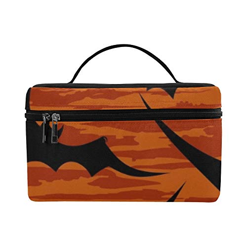 Halloween Wallpaper Lunch Box Tote Bag Lunch Holder Insulated Lunch Cooler Bag For Women/men/picnic/boating/beach/fishing/school/work