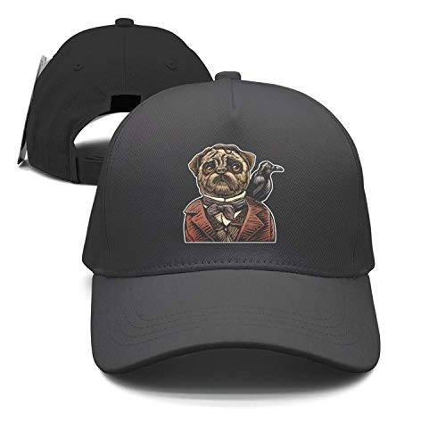 ZhongQi Pug Halloween Mr. Pug Man Popular Peaked