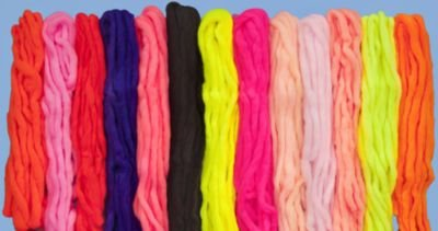 Glo Bugs Yarn, 15', 5/16