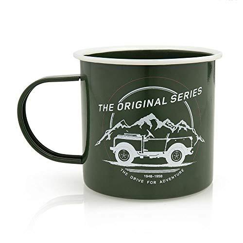 Land Rover Merchandise Heritage Series I Enamel Mug Genuine - Series Enamel
