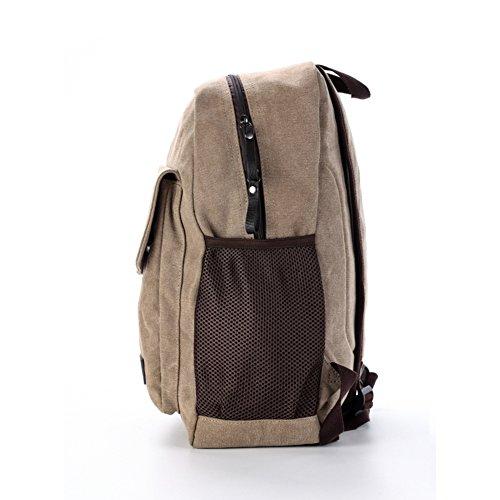 de moda computadora escuela de A de Bolsa la Morral la de viaje bolsos A la de lona Bolsas mochila wqAazFF