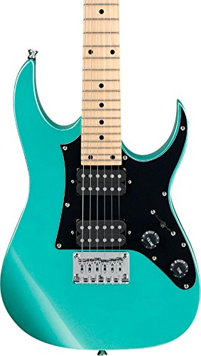 (Ibanez GRGM 6 String Solid-Body Electric Guitar, Right, Metallic Light Green (GRGM21MMGN))