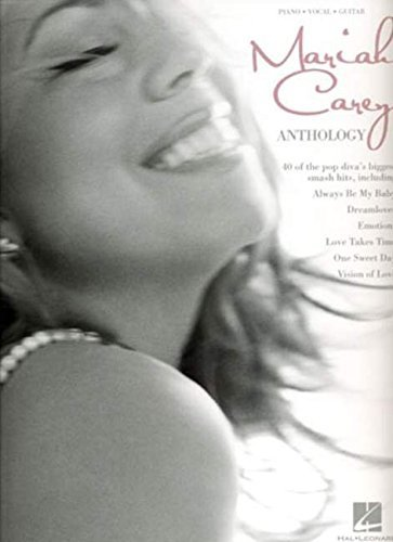 Mariah Carey: Anthology (PVG). Partitions pour Piano, Chant et Guitare (Music Pvg Sheet Book)