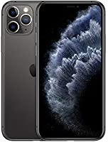 Apple iPhone 11 Pro (512GB, Space Gray) [Carrier Locked] + Carrier Subscription [Cricket Wireless] ($10/Month Amazon...