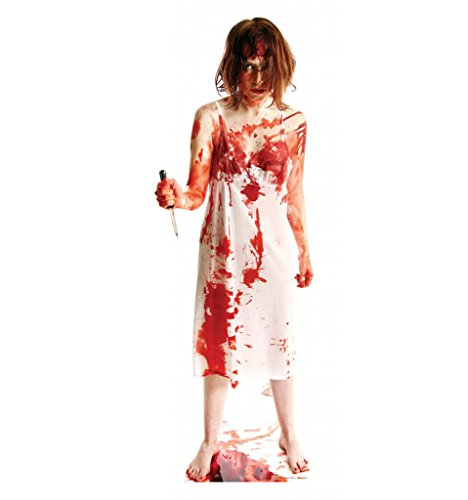 Psycho Lady - Advanced Graphics Life Size Cardboard (Psycho Halloween Props)