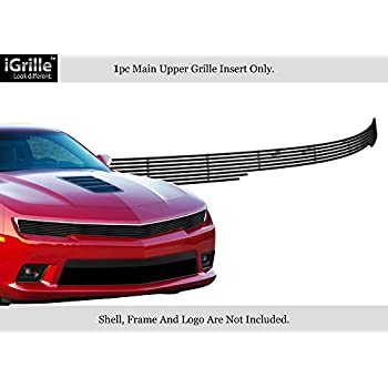APS Compatible with 2014-2015 Chevy Camaro SS LT Stainless Steel Mesh Grille C75998T