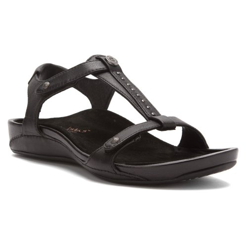 Aetrex Alyssa - Womens Sandals Black