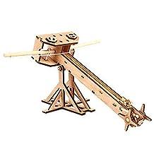 Young Modeler Education Series Wooden Model Kit_Ballista(YM405) : Miniature Catapult Kit,Model Building Kits hobby toy Game