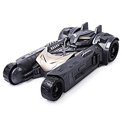 BATMAN Batmobile and Batboat 2-in-1 Transforming Vehicle, for Use 4-Inch Action Figures: Toys & Games