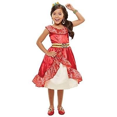Disney Elena Of Avalor Adventure Dress 4-6x: Toys & Games