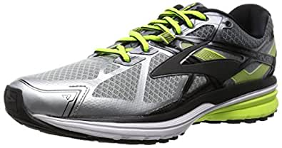 Brooks Men's Ravenna 7 Silver/Nightlife/Black Sneaker 7.5 D (M)