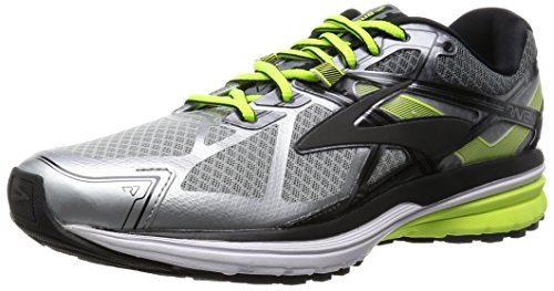 Brooks Men's Ravenna 7 Silver/Nightlife/Black 7.5 D US