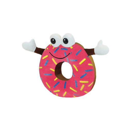 Pink DonutMan The DonutMan Collectible Toy 8.5