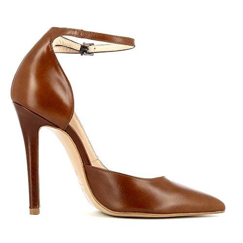 Coñac Mujer Cerrado Lisa Shoes Evita 1wFIqawBnx