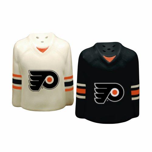 (The Memory Company NHL Philadelphia Flyers Gameday Salt and Pepper Shaker)