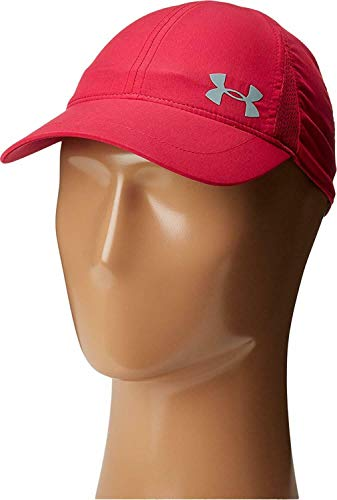 (Under Armour Women's Printed Shadow Cap (Youth) Honey Suckle/Honey Suckle/Silver Reflective Hat)