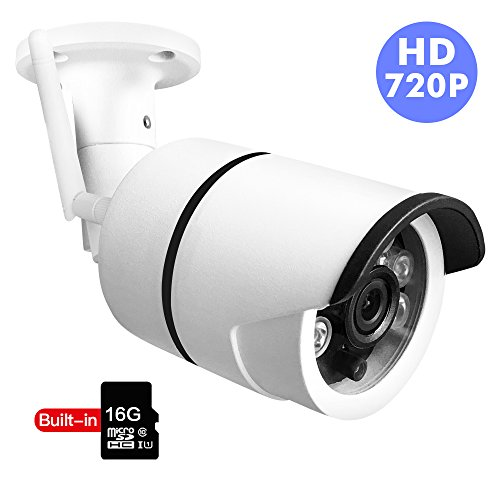 Bullet IP Camera Outdoor SDETER Waterproof 720P HD Home Security Surveillance Easy