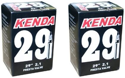 "schrader valve 29 x 2.1 Kenda 29 /""inner tube presta"