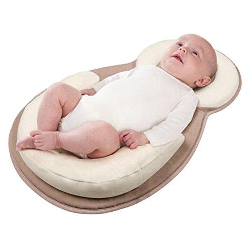 Best Price Newborn Baby Support Pillow - Baby Bed Mattress for Newborn Anti-rollover U Shape Cushion...