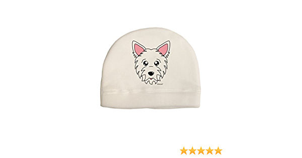 with or without pompom Beanie with Cute White Westie dogs in a Choice of colours Teenager to Adult unisex size