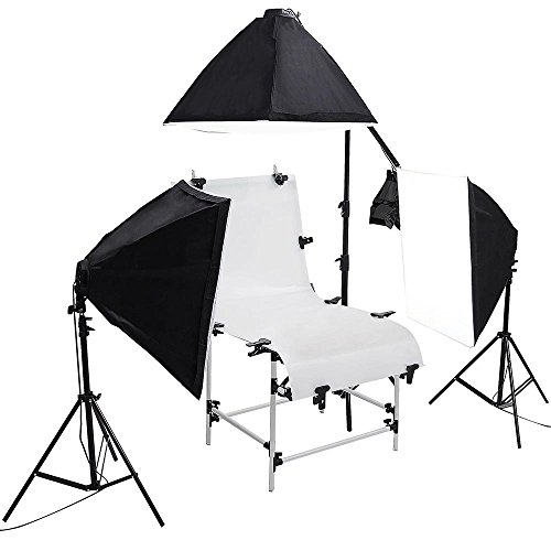 AW Shooting Softboxes Continuous Lighting