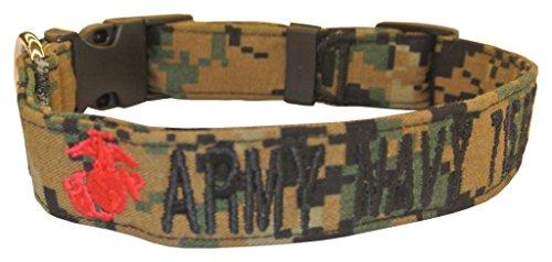 Collars Leashes Military Woodland Hardware product image