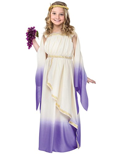 Kids Greek Goddess Costumes (Purple Greek Goddess Kids Costume)