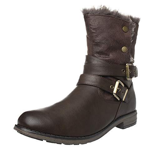Stivali Footwear Talpa Marrone Donna Fitters fBFaTg