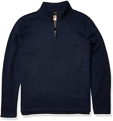 Wrangler Authentics Men/'s Sweater Fleece Quarter-Zip