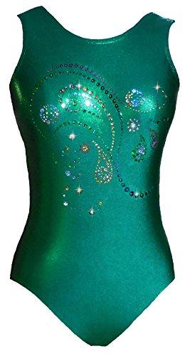 Look Activewear Emerald Sparkle Gymnastics