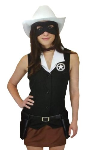 The Lone Ranger Female Lone Ranger Costume Medium