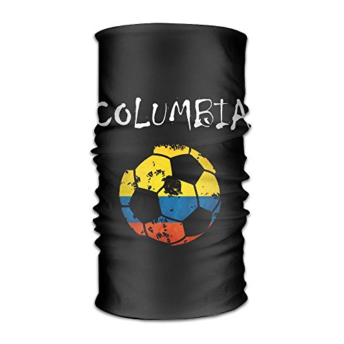 Columbia Flag Football 2018 Headwear Bandanas Headscarf Helmet Liner Head Wrap Scarf by WOOD-RAIN