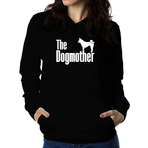 Teeburon The dogmother Akita Women Hoodie ()