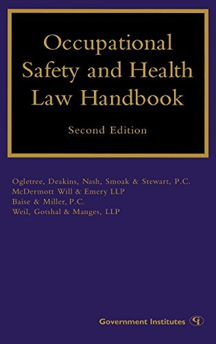 Occupational Safety and Health Law Handbook by Margaret S. Lopez (2007-12-24)