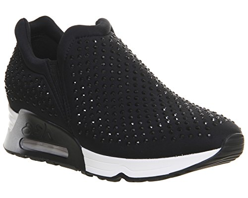 Ash Footwear Lifting Black Neoprene and Gemstone Trainer 38EU/5UK Black