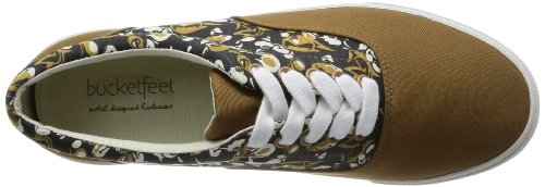 Bucketfeet Mens Deugd Canvas Kant-up 10