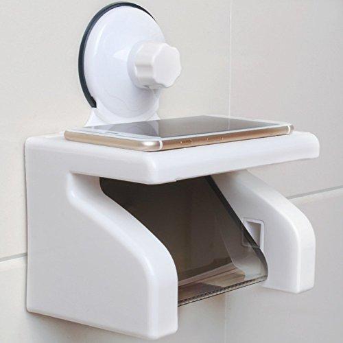 Wasserdichtes Papierhandtuchhalter Saugnapf/Badezimmer-Gewebe-Kasten/Toilettenpapierhalter/Toilettenpapierrollenmagazin/Handschale/Toilettenpapierhalter