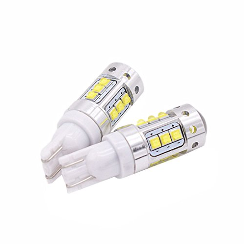 F-blue 2pcs T10 147 168 W5W T8 Width License Plate Light Car Reading Turn Signal Lamp Auto Door Bulb