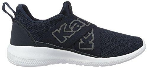 grey Kappa Bleu navy Mixte Adulte Basses 6716 Faster Ii Sneakers wwB48gq