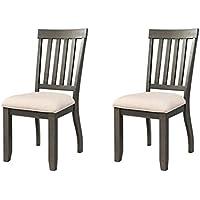 Abbey Avenue D D-Jet-SC Jett Side Chair Set, Dark Ash