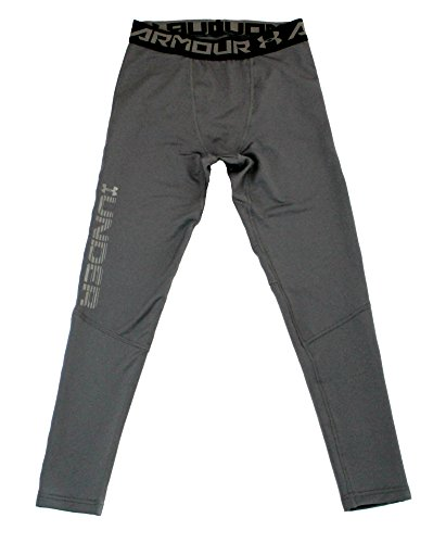 Under Armour Big Boys 8-18 DFO Novelty Fitted Leggings Anti Odor Athletic Pants (L 14/16, - Kids Dfo