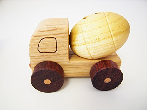 Car series to work toy wooden mixer truck of Supusori tree
