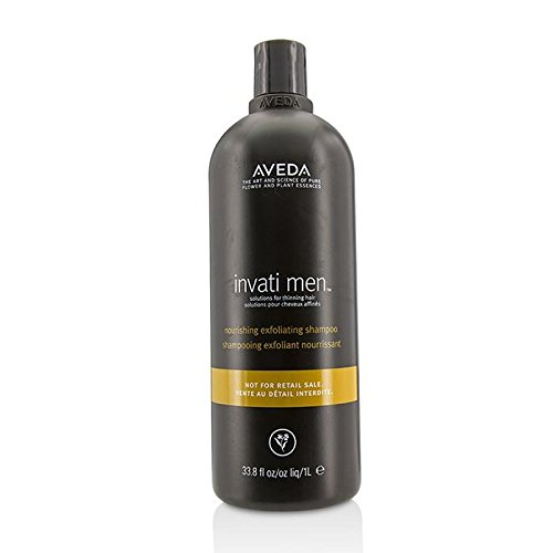 Aveda Invati Men Nourishing Exfoliating Shampoo - For Thinning Hair (Salon Product) 1000ml/33.8oz