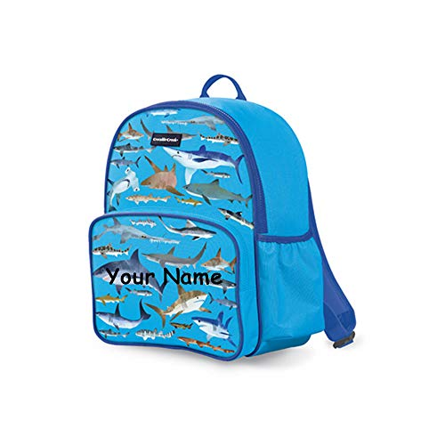 - Crocodile Creek Personalized Shark Underwater Sea Animals Back to School Backpack Book Bag with Custom Name